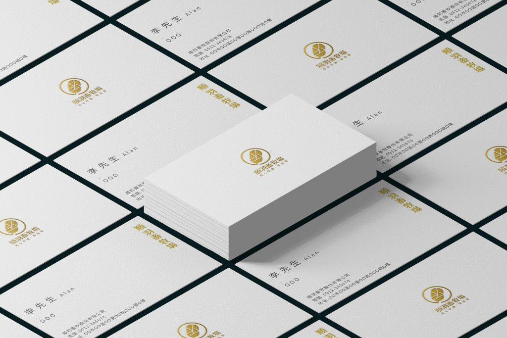 斐品整合行銷客戶|順羽畜牧場|品牌VI與LOGO設計