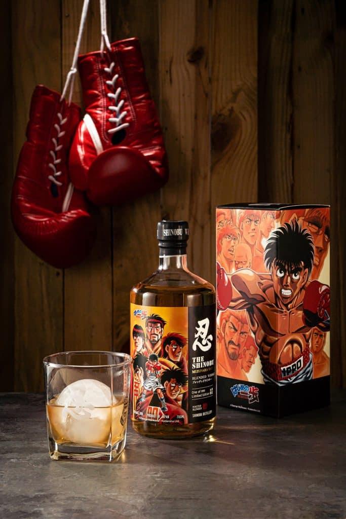 斐品整合行銷客戶|忍SHINOBU X《第一神拳》聯名威士忌