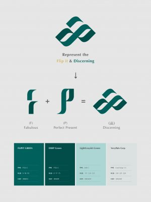 斐品整合行銷Logo改版_圖像標示含義與顏色規範