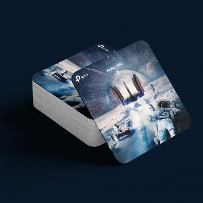 斐品整合行銷客戶 TP-Link GX90(Archer AX6600)電競路由器 產品延伸物設計與製作